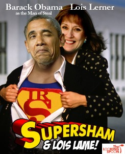 BHO Superman and Lois Lerner